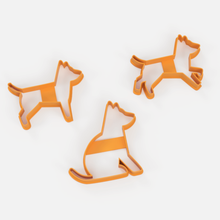 dogs x3 cookie cutter set 1 - dog cookies cutters x3 set 1 sharp cookie cookiecutter cutter cake cookies porcelain masses whale paste cookie cutter dog dog cutting set cookie cutter doggie cutter set dog cutter