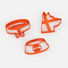 dogs x3 cookie cutter set 2 - dogs x3 cookie cutter set 2 sharp cookie cookiecutter cutter cake cookies porcelain masses whale paste cookie cutter dog dog cutting set cookie cutter doggie cutter set dog cutter