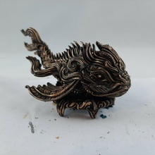 dragon carpe animal poisson orné monstre ancien filigrane scifi fantaisie steampunk table dnd miniature