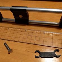 dual 10mm tube clamp m6 hole tool 10mm 10mm tube clamp clip-on tube clamp tube tube clamp parts