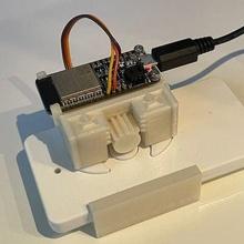 dumb remote automation esp32 home automation ifttt remote remote control remote controlled servo electronics