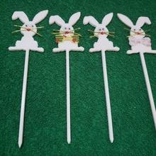 Pâques lapin toppers lapin Pâques toppers Pâques Oeuf cadeau art vite