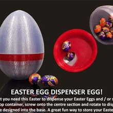 easter egg dispenser egg home containers unique sweets jar sweets bowl sweets storage box storage season popular novel lolly jar lollies kitchen jelly beans jar household home holiday funny fun festive eggs egg easy print easy easter egg easter bunny easter- egg easter eggs easter dispenser egg dispenser container clever chocolate celebration candy bunny box novelty design