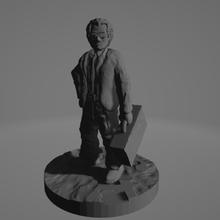 easy-print special agent 28mm ttrpg miniature starfinder cyberpunk shadowrun special agent secret agent mib