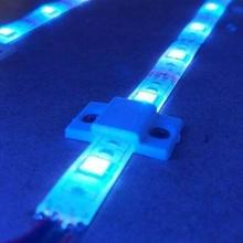 einfach LED Streifen Halter Unterstützung Halter Unterstützung Erfinder LED Licht schraubte Streifen Hobby