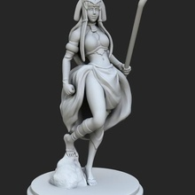 egyptian goddess game toy game accessories woman toy sexy-girl sexy sculpture original girls figures figure female figure female character egyptian statue egyptian pharaoh egyptian dnd miniature dnd clothed action figure