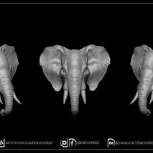 elephant key holder elephant keyholder decoration animal luck beautiful