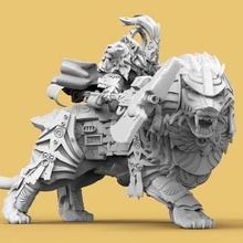 emperor's lion guard tool 40k custodes emperor guard lion marine mounted rider royal space warhammer 3d printing