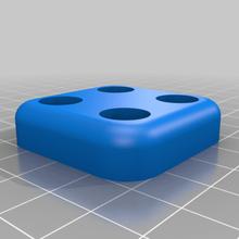 ender 3 riser piedi 40x40mm creality ender 3 ender3 ender 3 ender 3 pro piedi l'isolamento l'isolamento piede stampante piedi l'isolamento delle vibrazioni 3d_printer_accessories