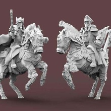 expendable brigade officers commisars tool dkok 40k astra militarum cavalry death great war horseman knight korps warhammer 3d printing