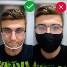 face mask mini visor protect mask covid corona covid 19 face shield plastic mouth cover mouth covers covid-19 gadget covid protect protect mask face mask face shield beard mask