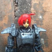 fallout joe anime bebek kafası oyun aksiyon figürü anime karakteri mafsallı fallout oyuncak
