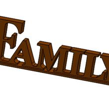 family sign home family letter family sign family