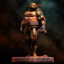 fan art tmnt michelangelo statua tmnt ninja tartaruga mutante adolescente tartaruga animale cartone animato ninetys 90s eroe supereroe comico libro