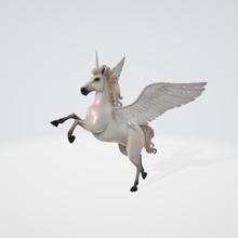 fantasy unicorn model - fantasy unicorn model - unicorn model ufo unicorn fantasy art toy toy low poly art unicorn fantasy unicorno fansìa