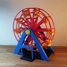ferris wheel game ferris wheel fun mechanical carneval model riesenrad toy art