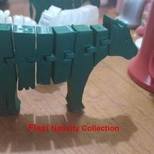 flexi - vaca de la natividad de la colección de belén casa animal de juguete flexi de la vaca escena de la natividad de navidad la natividad