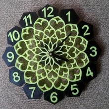 floral design wall clock art wall clock clock design clock floral design clock art traditional clock