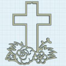 fleuri traverser 2 traverser Christ Jésus symbole symbolisme catholicisme chrétien christianisme