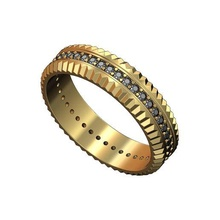 fluted watch bezel diamond ring us size 7 10 3d print model diamond ring diamond watch bezel watch bezel fashion ring ring jewelry printable gold silver sterling jewellery luxury classic rolex bling watch ring rolex ring swiss rings