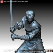 piede clan soldato in scala 1 10 stl figura mutante fantazy futuristico statua scultura miniature figurine tmnt mutazione bestia comix cartone animato marwel supereroe shredder