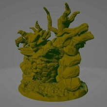 force nature 28mm 3dprintable descent dungeons and dragons fantasy force of nature miniature miniatures monster tabletop tabletop gaming creatures