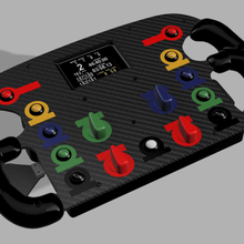 ford gt gte diy steering wheel game ford ford gt ford gt gte ford gte diy diy steering wheel steering wheel wheel simracing sim racing racing simulation fanatec simucube nextion nextion 35 racing wheel vrs simplicity sim-plicity osw