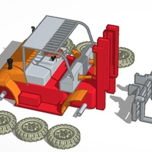 forklift various oo gauge forklift truck forklift industrial