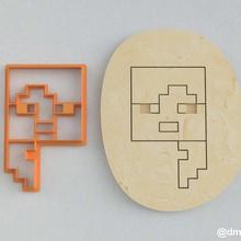 formas de las galletas de pan de jengibre de alex de la cabeza de minecraft uno casa enredadera los juegos de video la torta steve alex juego de minecraft cookie cortador la cocción