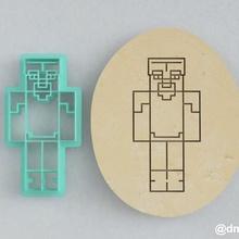 formas de las galletas de pan de jengibre steve armadura de diamante de minecraft casa la cocción cortador cookie de minecraft juego steve la torta los juegos de video enredadera