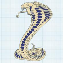 çerçevesiz çıngıraklı yılan sanat dekor mural hayvan yılan çıngıraklı yılan