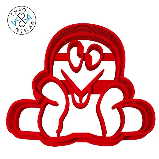 fred octopus - pocoyo - c