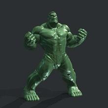 free hulk figure avengers hulk ironman masterclip masterclip3d spiderman thanos thor creatures
