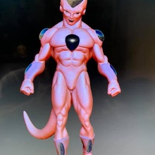 frieza art dragonball frieza dbz art toy art toy low poly hulk thanos marvel