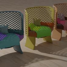 garden chairs chair garden blanket cushion out outside grass seat comfortable winter spring autumn summer