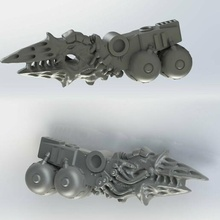 gene corrupted armor bearer melta armor bearer knight sword gene melta imperial dominion cult monster