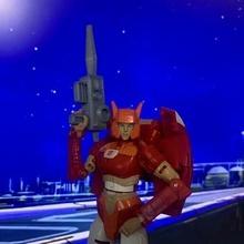 genérico transformadores rifle transformadores autobot juguete pistola rifle acción figura cerco salida tierra