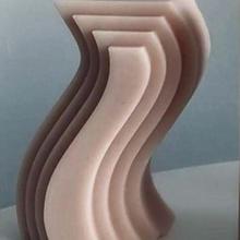 geometric candle candel loop decoration home art 3d geometric