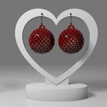 geometric earrings 2 geometric earring organic jewelry jewellery ear elegant oversized gift woman mother's day christmas x-mas wife mother surprise fashion lovely