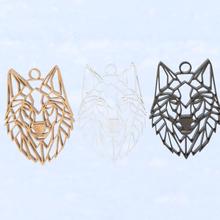 geometric wolf earrings jewelry art geometry geometric wolf wolf earring wolf earrings wolf alaska russia indian earrings earring pendant indian earring geometrical wolf geometric