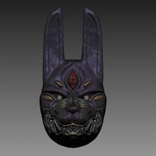ghost tsushima - legends assassin mask props cosplay gadget ghost of tsushima samurai assassin wolf of tsushima jailbreakarts videogame yokai demon mask wolf mask japan japanese