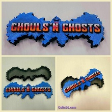 ghouls's ghosts box logo ghouls n ghosts ghosts n goblins retro video game stash box jewelry box games