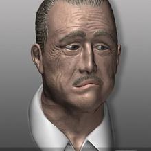 godfather - der pate - don vito corleone art bueste bust b&uuml ste don vito corleone figur figure godfather mafia marlon brando nemoriko pate godfather people