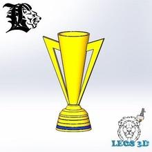 oro taza trofeo fútbol oro taza daniel leos leos3d leosindustrias leos fútbol fútbol trofeos santos Laguna arsenal Barcelona real Madrid
