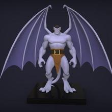 Goliath Gargoyles stl Goliath Gargoyles karikatür heykel çirkin yaratık şekil