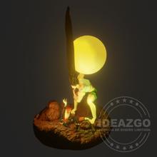 gon neferpitou - final yayanken art 3d printer figure hunter x hunter hunter x hisoka anime diorama gon rasetsu neferpitou meruem gon freecss