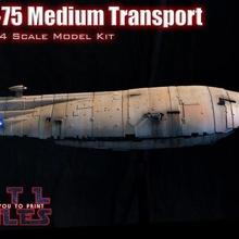 gr 75 rebelde transporte gr 75 rebelde transporte transporte estrella guerras imperio huelgas espalda espacio Embarcacion escala modelo gr75 medio transporte estrella destructor hoth Jedi X ala