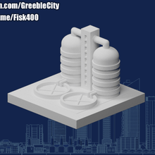 greeblecity industry water treatment plant architecture greeblecity greeblecityindustry buildings structures
