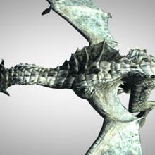verde Drago truccato Drago mostro bestia mitico