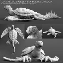 green sea turtle dragon game d&d turtle dragon green sea turtle sea turtle dragon turtle turtle dragon crocodile animal iguana marine water dragon monster miniature creature mini tabletop dungeons dragons labradoritewolf dnd
